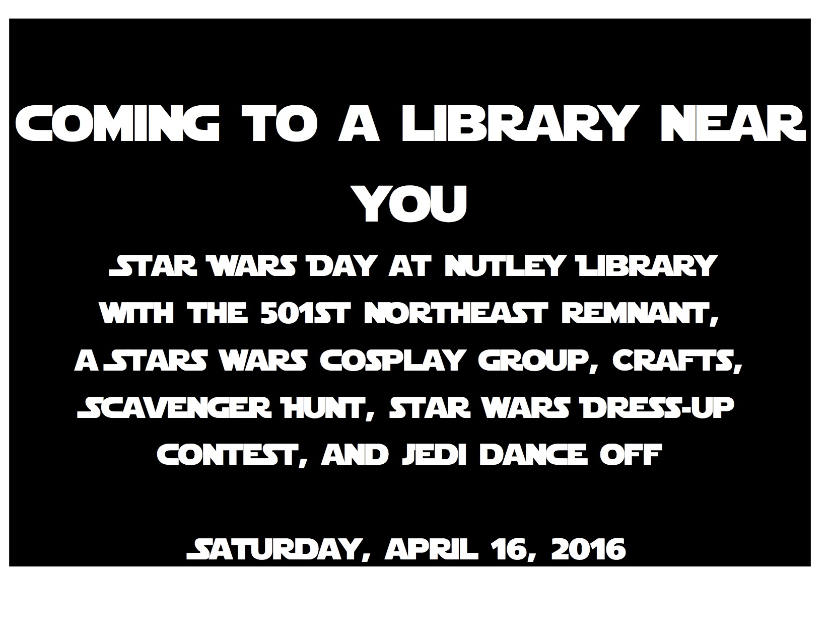Star Wars Spring Break 2016